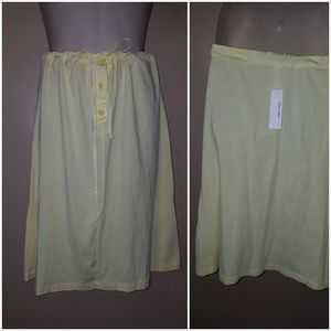James Perse Skirt Yellow